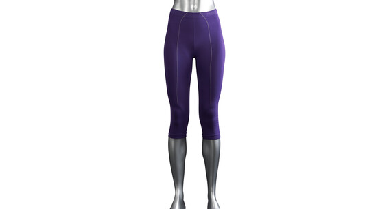 Falke Skiing Athletic 3/4 Tights Women purple
